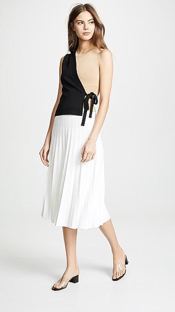 Yigal Azrouel Платье-халат с цветными блоками