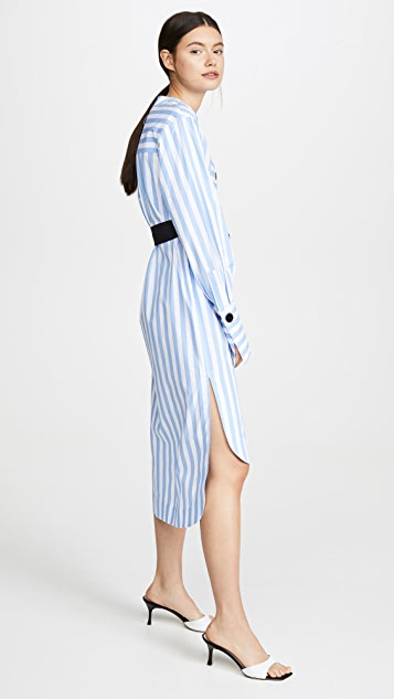 Yigal Azrouel Candy Stripe Tunic Dress
