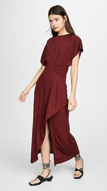 Yigal Azrouel Асимметричное платье со сборками