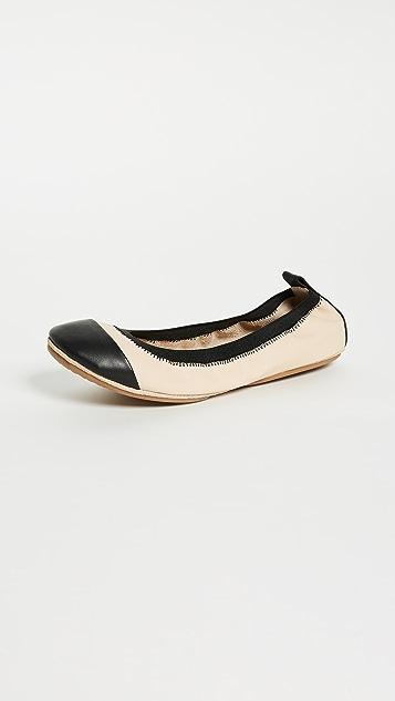 Yosi Samra Samantha II Cap 夹趾平底鞋