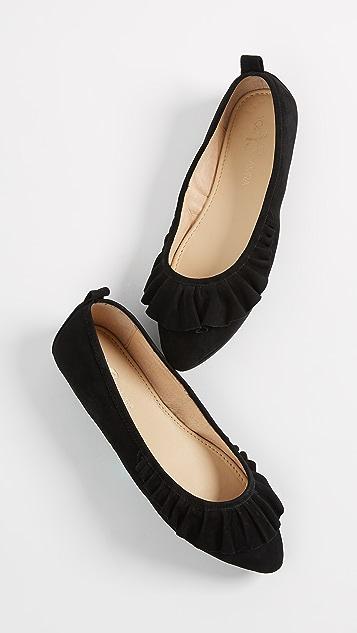 Yosi Samra Vanessa Ballet Flats