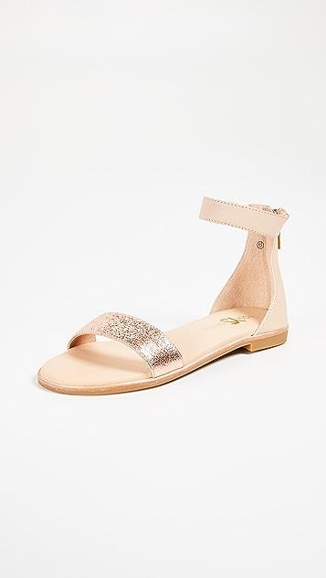 Yosi Samra Cambelle Ankle Strap Sandals