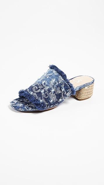 Yosi Samra Drea Block Heel Sandals