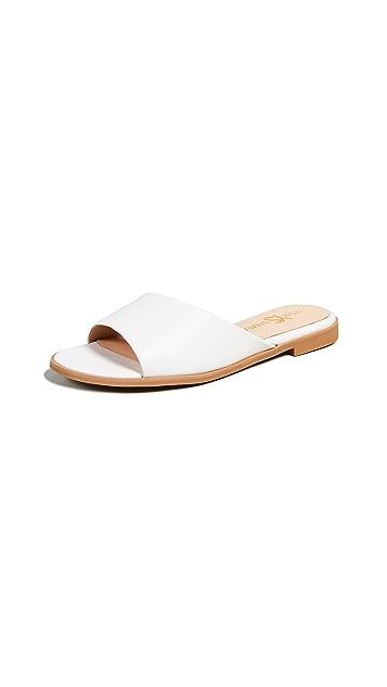 Yosi Samra Обувь на плоской подошве Constantine с открытым носком