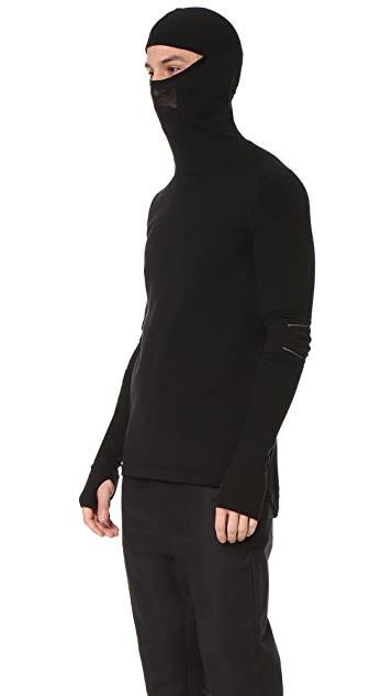 Y-3 Sport Merino Hooded Top