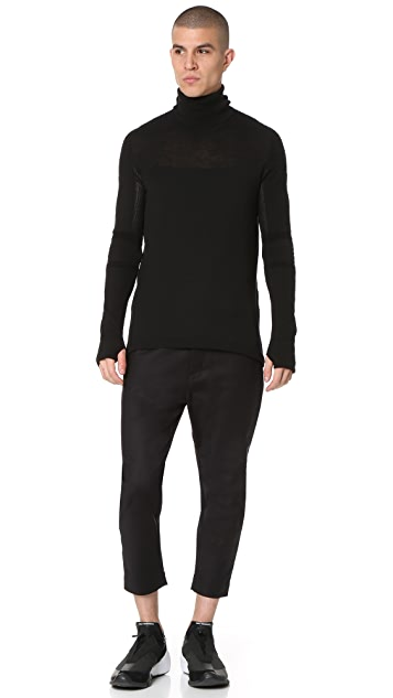 Y-3 Sport Merino Long Sleeve Tee