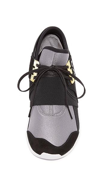 Y-3 Y-3 Qasa Elle Lace Jogger Sneakers