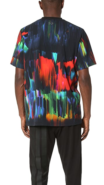 Y-3 Y-3 All Over Print Jersey Tee