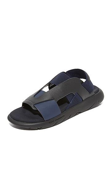 900dc7762 Y-3 Y-3 Qasa Elle Sandals