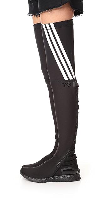 Y-3 Y-3 Zazu High Sneaker Boots
