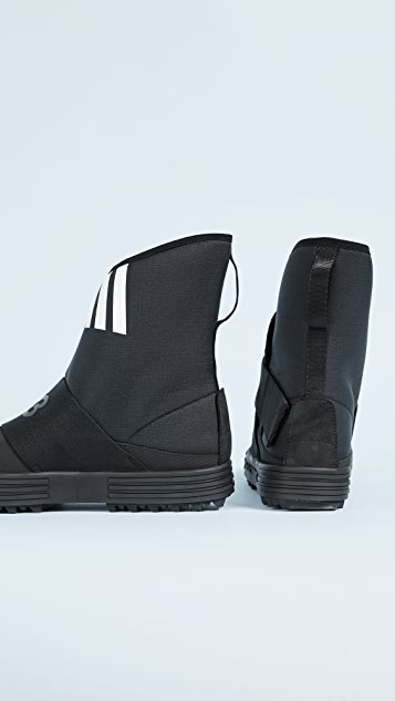 Y-3 Y-3 New Snow Foxing Strap Sneakers