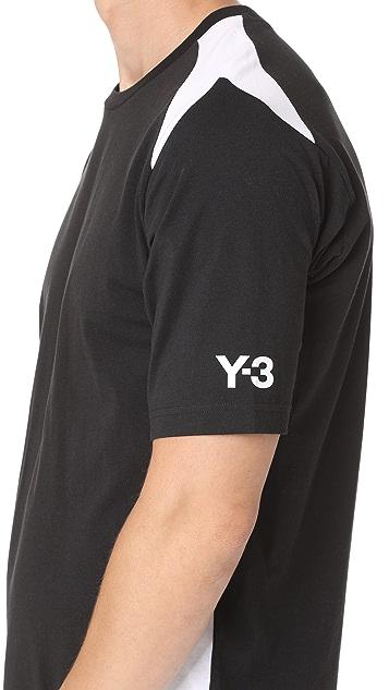Y-3 Y-3 Stripes Tee
