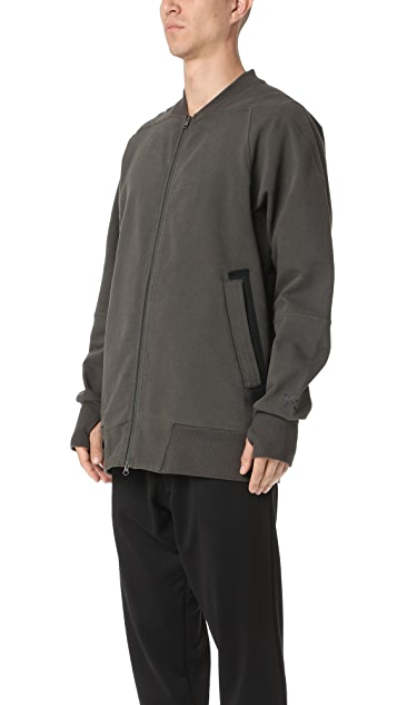 Y-3 Y-3 Stripes Bomber Sweatshirt