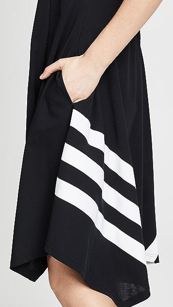 Y-3 Striped Tunic Dress