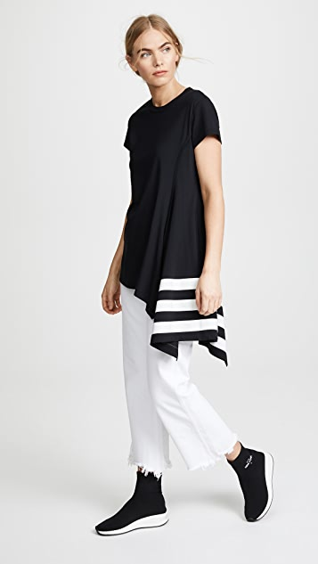Y-3 Striped Tee
