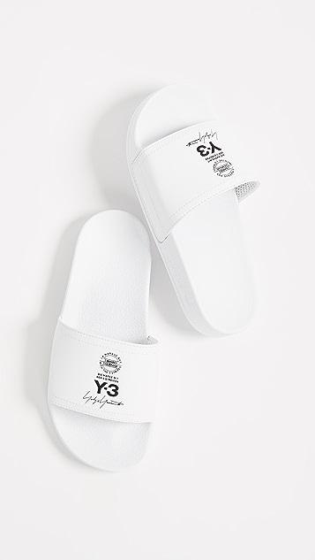 Y-3 Y-3 Adilette Slides