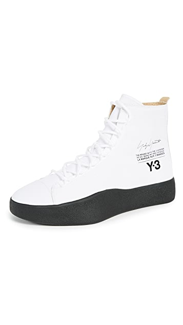 f527e55c4432c Y-3 Y-3 Bashyo High Top Sneakers