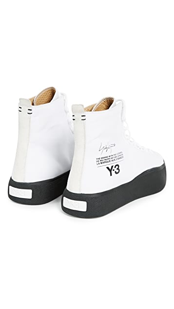 Y-3 Y-3 Bashyo High Top Sneakers
