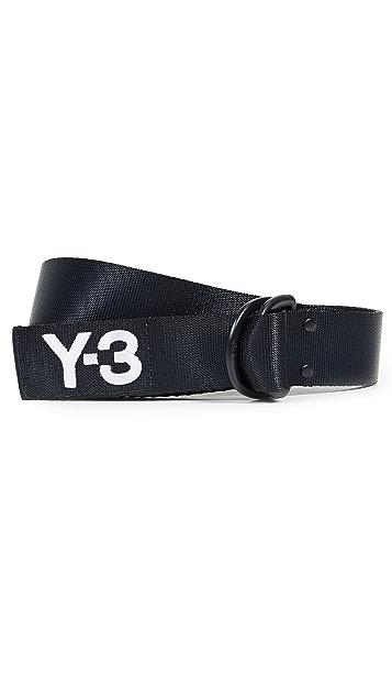 Y-3 Y-3 Logo Belt