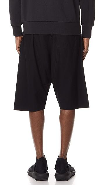 Y-3 Y-3 Twill Sarouel Shorts