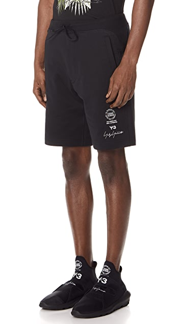 Y-3 Graphic Shorts
