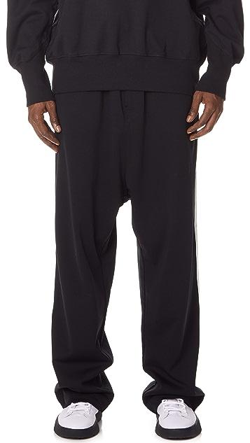 Y-3 3 Stripes Wide Pants
