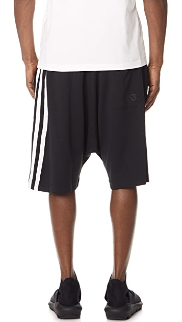 Y-3 Stripes Shorts