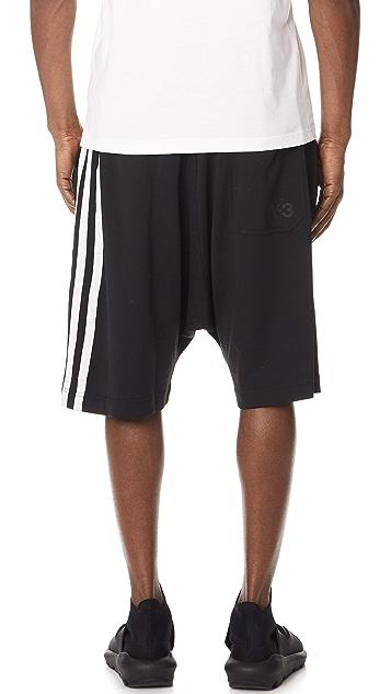 Y-3 Stripes Shorts