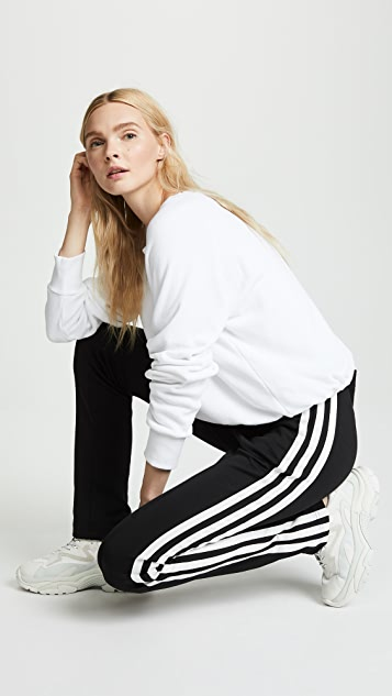 Y-3 Matte High Waisted Track Pants