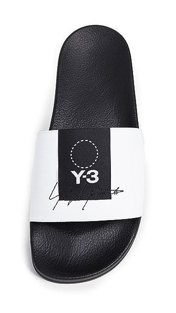 Y-3 Adilette Slides