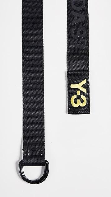 Y-3 Slogan Belt