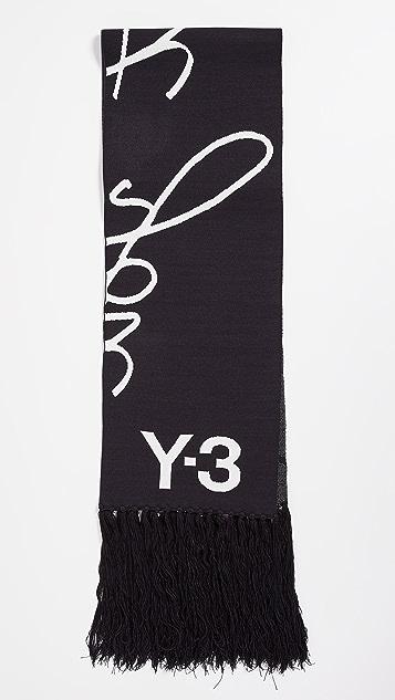 Y-3 Slogan Scarf