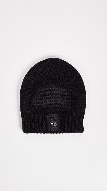 Y-3 Knit Beanie Hat