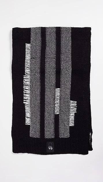 Y-3 Knit Scarf