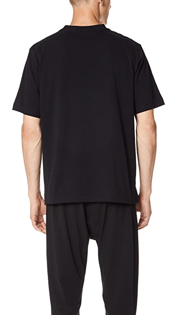Y-3 M Stacked Logo Tee