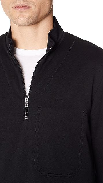 Y-3 M Sashiko Half Zip Sweater