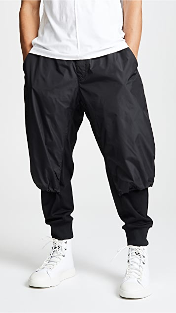 bd8e94b1233c6 Y-3 M Nylon Mix Track Pants