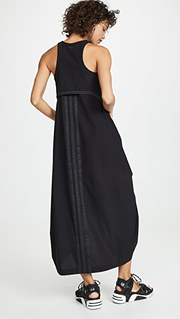 Y-3 Платье с тремя полосками