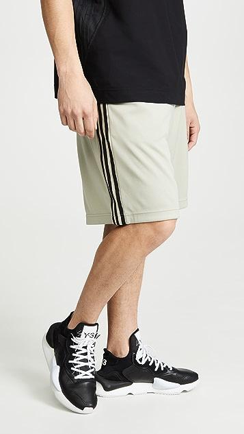 Y-3 M 3 Stp Track Shorts