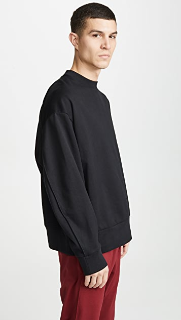 Y-3 Signature Graphic Crew Sweater