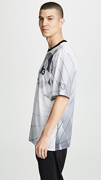 Y-3 M AOP Football Shirt