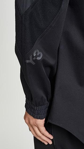 Y-3 Varsity Gabardine Overshirt