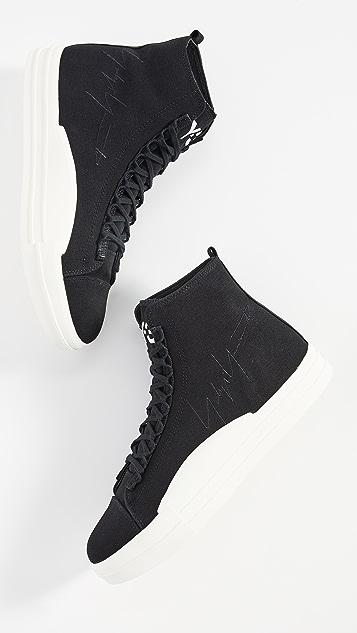 Y-3 Yuben Mid Top Sneakers