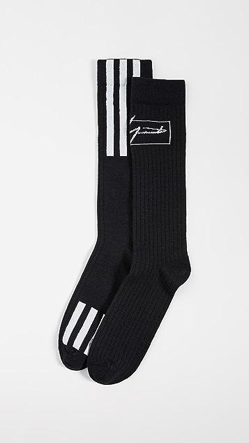 Y-3 Logo Socks
