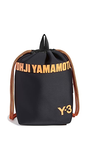 Y-3 Drawstring Backpack
