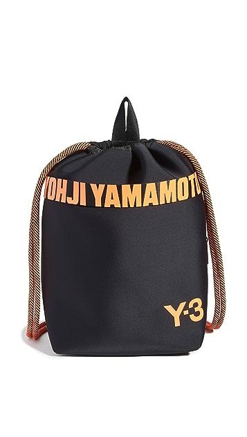 Y-3 Drawstring Backpack