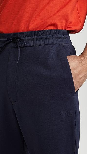 Y-3 Y-3 Logo Cuffed Track Pants