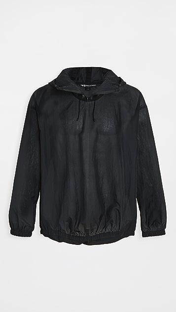 Y-3 Mesh Quarter Zip Pullover Jacket