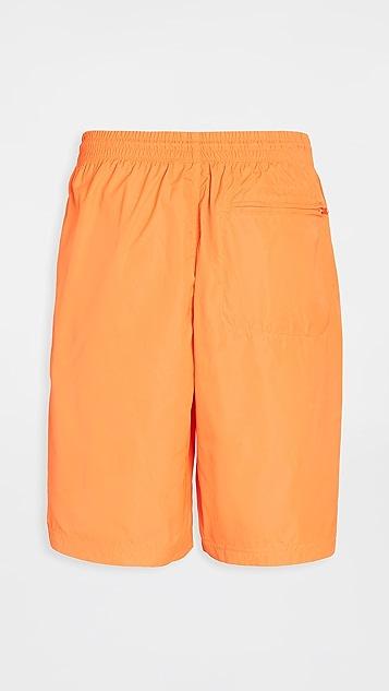 Y-3 Y-3 Logo Neon Swim Shorts