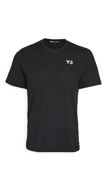 Y-3 Yohji Multi Color Graphic T-Shirt